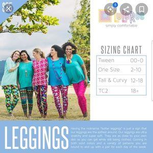 LuLaRoe Pants - Lularoe tc2 colorful pattern leggings